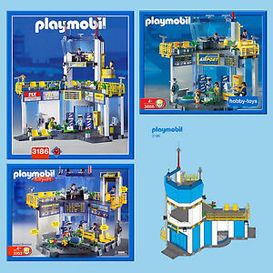* PLAYMOBIL AIRPORT * 3186 3353 3886 5744 * Spares * SPARE PARTS SERVICE *