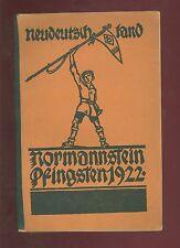 Neologismo paese normannstein Pentecoste 1922