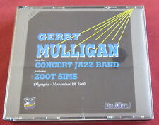 GERRY MULLIGAN  AND THE CONCERT BAND FEAT. ZOOT SIMS 2CDS   OLYMPIA 1960