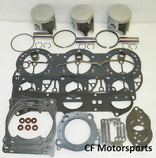 WSM 010-829-10 Piston Top End Rebuild Kit Yamaha 1200 1999-2005 PLATINUM