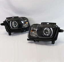 FOR 10-13 CHEVY CAMARO REPLACEMENT CCFL HALO PROJECTOR HEADLIGHT DEFECTIVE ITEM
