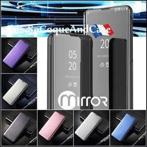 Hülle Cover Spiegel Ansicht Oberfläche Brieftasche Case OPPO Find X3/X3 Pro