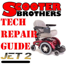 SERVICE GUIDE For Jazzy Jet 2 Technical Repair Manual With Parts Diagrams
