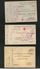 Wwi Pow Postal Card Collection