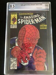 Amazing Spiderman #307!! PGX 8.5!! Black Widow!! McFarlane!!