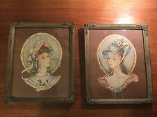 Lot of (2) Antique/VTG DONALD ART CO. INC. NEW YORK NO. 314 & 317