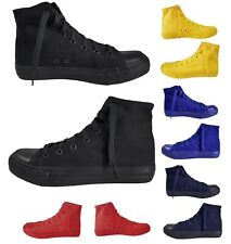 Scarpe Da Ginnastica Uomo Donna Unisex Sneakers in Tela Alte Casual Comode
