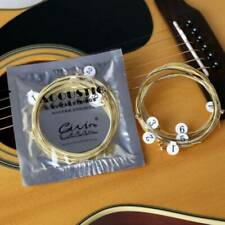Lots 6Pcs Acoustic Guitar Strings Set Phosphor Bronze & Steel Strings