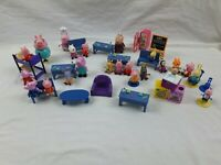 Peppa Pig Toy Bundle, furniture and Figures joblot bundle
