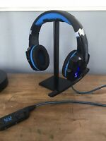 Used Bengoo G9000 Stereo Gaming Headset for Ps4 PC Xbox One Controller Noise