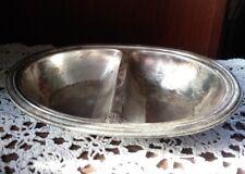 PRR Pennsylvania Railroad Silver Dining 2 Sided Serving Dish International (A)
