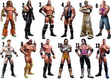 WRESTLERS WWE IRON ON T-SHIRT TRANSFER LOT SW