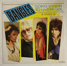 """The Bangles  Going Down To Liverpool Maxisingle 12"""" UK 1985"""
