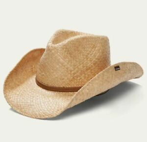 Stetson Laurel Raffia Straw Cowboy Hat