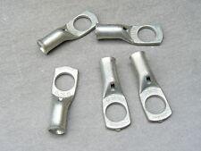 lot de 5 cosse tubulaire 25 mm² trou M12  cuivre etamé