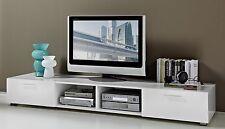 TV-Unterschrank in weiß Hochglanz lackiert