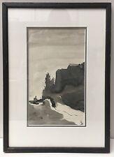 Original Watercolour & Ink Landscape Painting