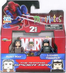 Marvel Minimates s46 Aunt May & Lizard Trooper figures Diamond 729175