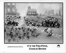 It's the Pied Piper, Charlie Brown 8x10 B&W Press Photo Peanuts
