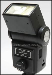 Vivitar 283 Flash - AUTO THYRISTOR/MANUAL FLEXIBLE POWER 100% SOUND & GUARANTEED