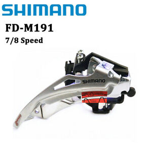 Shimano FD-M191 7/8/21/24 Speed MTB Bicycle Front Derailleur Dual Pull 31.8mm