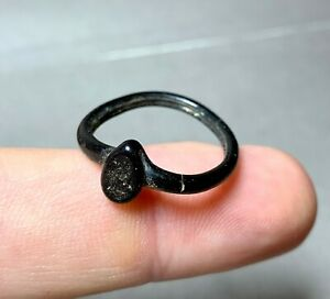 Antique glass ring, Domongol, XI-XIII century, authentic.