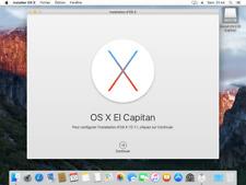 Mac OS El Capitan 10.11 bootfähiger USB-Stick