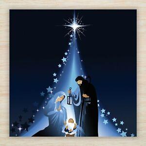 "Religious Christmas Blank Cards or Packs - Nativity ""A Star is Born"" - Freepost!"