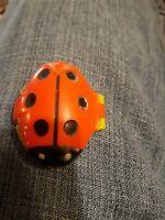 Vintage Avon Lady Bug Her Princess Fragrance FULL Compact RARE HTF NOS/ NO BOX.