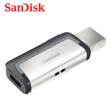SanDisk Ultra Dual OTG Type-C USB 3.1 32GB Flash Pen thumb Drive SDDDC2 150MBs