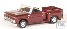 87CP65003 Oxford Diecast HO Chevrolet Stepside Pick Up 1965 Maroon Metallic
