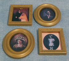 1:12 Scale 4 Pictures (Prints) In Frames Dolls House Miniature Paintings D832