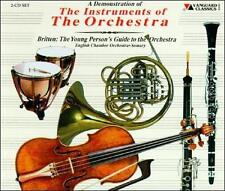 A Demonstration Of Instruments Of Orchestra: Britten - Young Person's Guide 2-CD