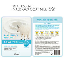 Jluna Korean Cosmetics Fresh Natural Plant Essences Face Mask Pack 1PC Goat Milk