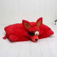 UK FNAF FOXY Pillow 40x33cm Plush Soft Cushion Five Nights at Freddy's