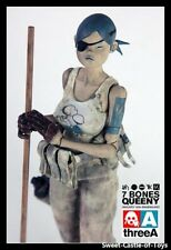 1/6 threeA Ashley Wood Popbot Tomorrow Kings Classics Seven Bones Queeny Figure