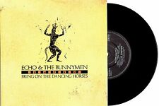 "ECHO & THE BUNNYMEN - BRING ON THE DANCING HORSES - 7"" 45 VINYL RECORD w PIC SLV"