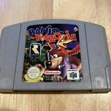 Banjo Kazooie 64 (Nintendo N64 PAL Version) NUS-NBKP-EUR Tested