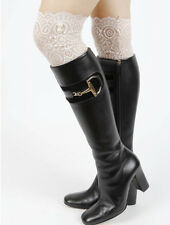 Lace Boot Toppers Leg Warmers LIGHT PINK Celebrity Trendy Fashion Legging Pearl