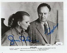 GENE HACKMAN+GENA ROWLANDS HAND SIGNED 8x10 PHOTO        AWESOME+RARE        JSA