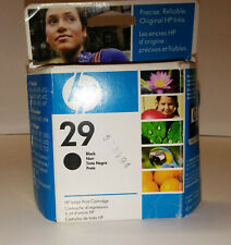 NEW HP 29 BLACK INK CARTRIDGE 51629A FOR HP DESKWRITER 600 EXPIRE 10/2008