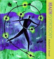Health Psychology by Richard O. Straub (2001, Hardcover)