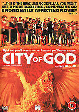 City Of God (DVD, 2003) NEW AND FACTORY SEALED DVD , REGION 2 AND U.K. RELEASE