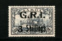 GERMANY COLONIES SAMOA BRITISH OCCUPATION Mi.10 .Pr.3800 € ) SIGNED MH
