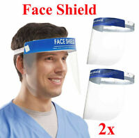 2PCS Anti-fog Empty Top Cap Full Face Splash proof Face Protective shield Hat