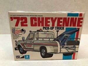 VINTAGE MPC 1/25 SCALE 1972 CHEYENNE PICK-UP TRUCK MODEL KIT BOX ONLY!!!!!!