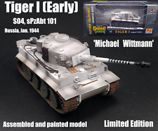 WWII German Tiger I Wittmann SS 101 limited edition Tank 1:72 finish Easy Model