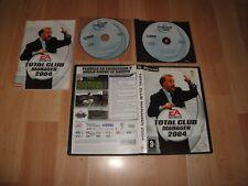 TOTAL CLUB MANAGER 2004 CON VICENTE DEL BOSQUE PARA PC EN BUEN ESTADO