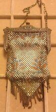 Antique/VTG Mandalian MFG Co Chain Mesh Purse Metal Hand Bag Art Deco