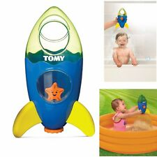 New Tomy TOMY Bath Toys Fountain Rocket Toddler Childrens Bathtime Fun Toy 72357